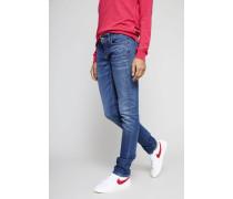 Jeans Modern Rise 'Liu' Mittelblau