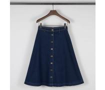 Midi-Jeansrock 'W'S Denim Long Skirt' Blau
