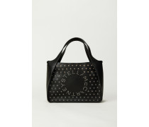 Shopper mit Stella-Logo 'Crossbody Logo Bag' Schwarz