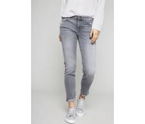 Jeans 'Pyper Crop' Grau