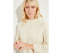 Cashmere-Strick-Pullover 'Berry' Créme
