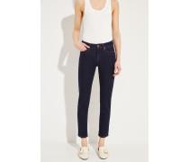 Cropped-Jeans 'Piera' Dunkelblau
