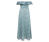 Leinenkleid 'Carnaby' mit floralem Print und Rüschen