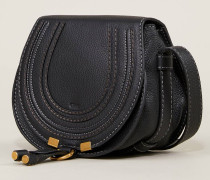 Umhängetasche 'Marcie Mini Saddle' Black