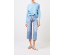 Oversize Cashmere-Pullover 'Laniv' Sky Blue