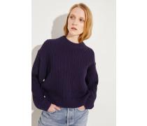 Woll-Pullover 'Kassie' Marineblau