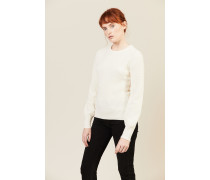 Woll-Pullover 'Kennedy' Crèmeweiß