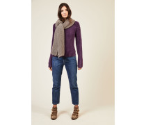 Cashmere-Schal 'Harvard' Taupe
