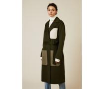 Woll-Cashmere Mantel 'Marcus' Grün