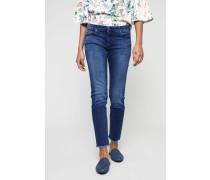 Jeans 'Pyper Crop' Blau