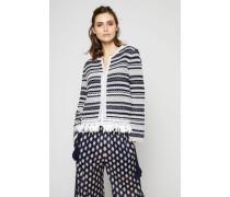 Cardigan mit Fransen-Details 'Payton' Multi - 100% Baumwolle