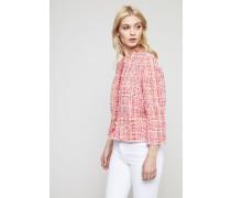 Klassische Tweed-Jacke Multi - Seide