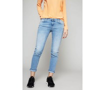 Jeans 'Pyper Crop' Hellblau