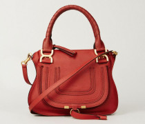 Handtasche 'Marcie Small' Earthy Red - Leder