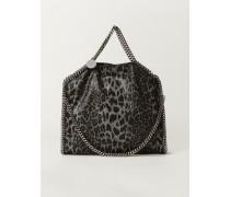 Tasche 'Falabella 3 Chain' Leopard