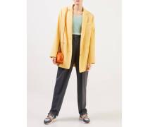 Cashmere Pullover V-Neck Salbei Melange