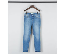 Skinny-Jeans 'Parla Cropped' Hellblau