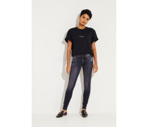 Jeans 'The Skinny Slim Illusion Grand' Anthrazit