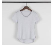 Baumwoll-Shirt Blue Frost - 100% Baumwolle