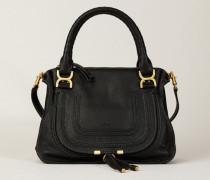 Handtasche 'Marcie Medium' Schwarz - Leder