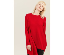 Cashmere-Pullover Rot