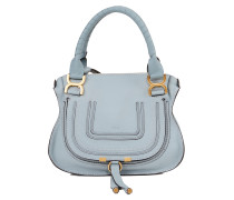 Leder-Handtasche 'Marcie Top Handle Small' Faded Blue