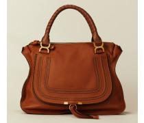 Handtasche 'Marcie Large' Braun - Leder