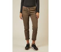 Slim-Fit Jeans Beige