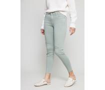 Jeans 'The Skinny Crop' Grün