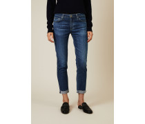 Skinny Jeans 'The Prima Roll-Up' Blau