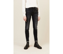 Jeans 'HW Pyper Slim Illusion Rock' Anthrazit