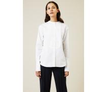 Baumwoll-Bluse 'Liberty' Weiß