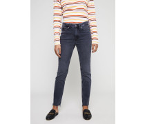 High Rise Jeans 'Daily Jean' Grau