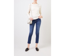 Highrise-Jeans 'The Mari' Blau