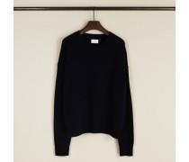 Woll-Cashmere-Pullover Blau - Cashmere