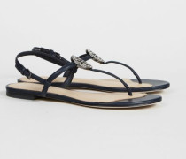 Sandale 'Minnie Liana Flat Sandal' Royal Navy - Leder