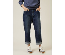Jeans 'The Skater Jean' Denimblau