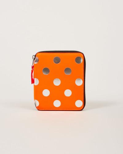 Gepunktetes Portemonnaie Dot/Orange