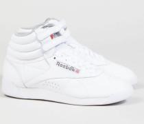 Sneaker 'Free Style High' Weiß - Leder