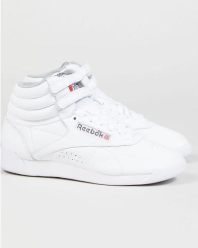 Reebok Damen Sneaker 'Free Style High' Weiß - Leder Freies Verschiffen Der Suche Nach bKJHkdOtm