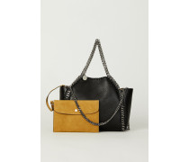 Wende-Shopper mit Stella-Logo 'Mini Tote Bag' Schwarz