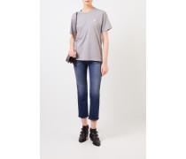 T-Shirt 'Nash Face' Grau