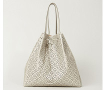 Shopper 'Arabesque' Beige - Leder