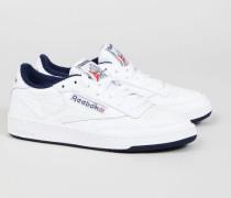 Sneaker 'Club C Archive' White/Navy - Leder