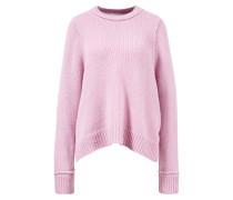 Strick-Pullover ' aus Alpaka-Wolle Flieder