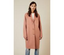 Woll-Cashmere-Mantel 'Avalon' Pink Melange - Cashmere