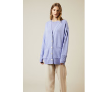 Cashmere Cardigan 'Cyprus' Blau - Cashmere