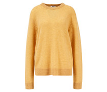 Oversize Pullover 'Kassio' Senfgelb