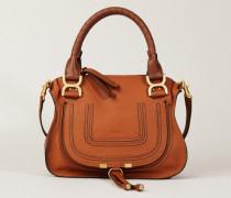 Handtasche 'Marcie Small' Tan - Leder