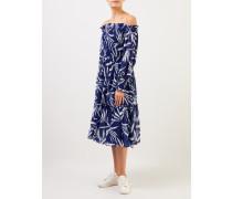 Sommerkleid 'Happy Summer' Blau/Weiß